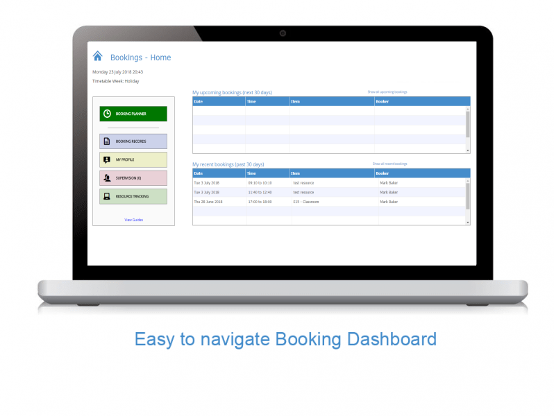 Free School Room Booking System